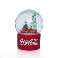 Canada tourist souvenirs snow globe promotion glass ball, wholesale canada gifts snow ball 65mm