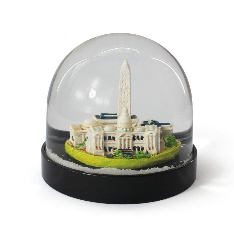 Custom made snow globe supplies hand made souvenir snow balls with cities