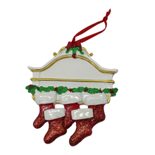 Factory Resin Sock Christmas Decorative Ornament