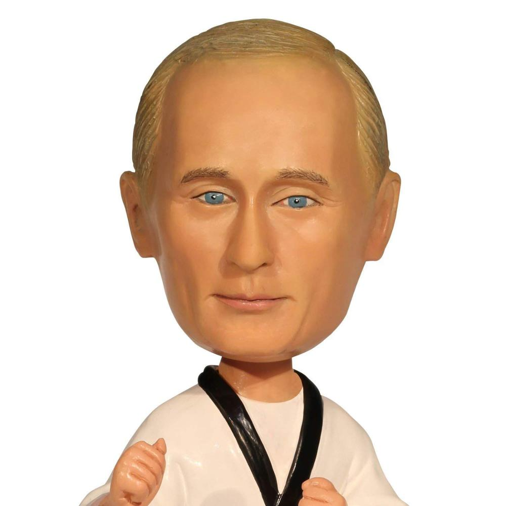Russia President Putin Toys Statue Action Figure Sculpture Figurine Bobblehead for Car Dashboard Home Office Desk Decoration