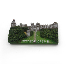 custom resin souvenir gift Windsor Castle letter fridge magnet