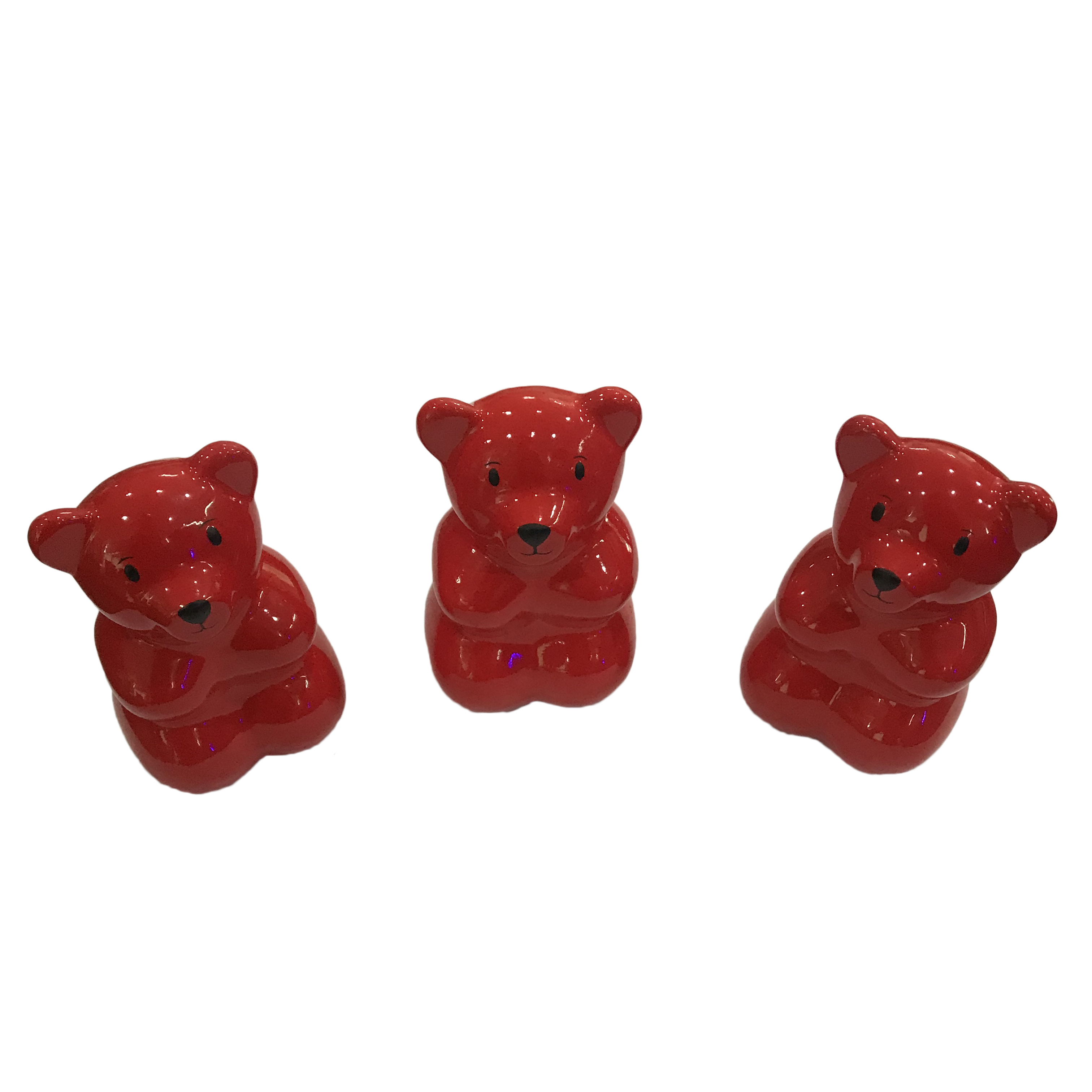 Wholesale cheap animal indoor gifts home ornaments resin bear sculpture