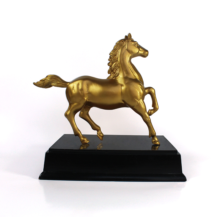 Custom made hand made vintage high quality Horse statue office home desktoe ornament