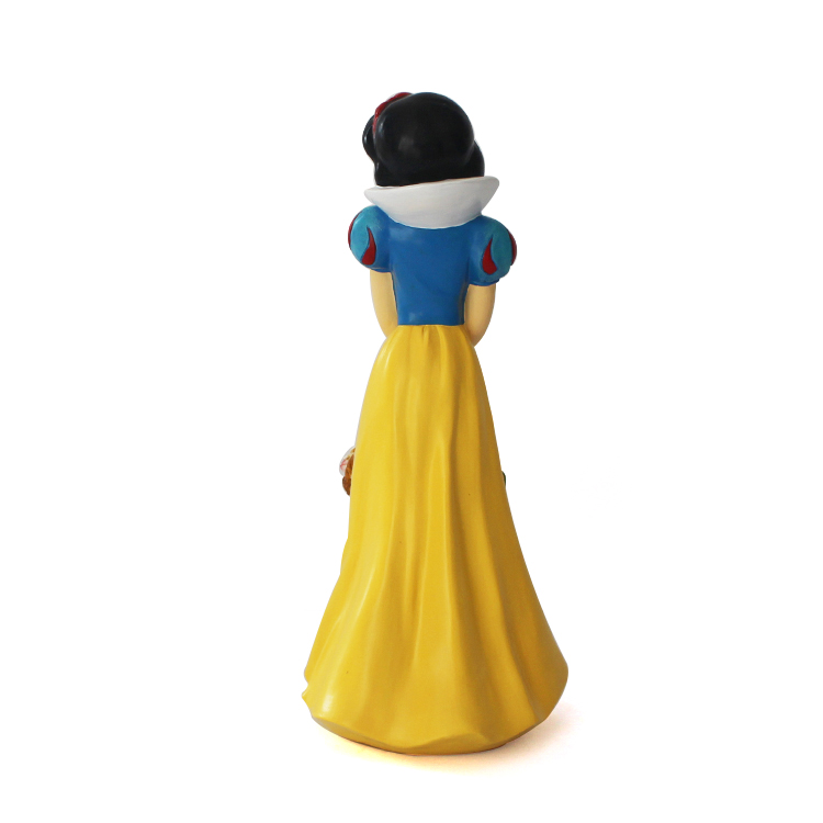 Wholesale resin outdoor decoration cartoon character western style Snow White statue