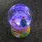 Amazing kids memory resin Led lighted snowglobe with Santa design