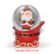 45mm Christmas decoration snow ball custom mini snow globe