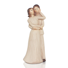 hot wedding souvenir resin figurine cake topper