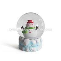 handmade christmas gift snow globe souvenir