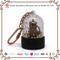 Customized Acrylic Zinc alloy Snow Globe Key Chain