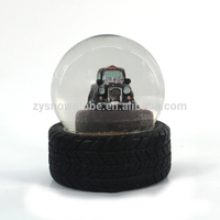 Cheap glass snow globe for souvenir