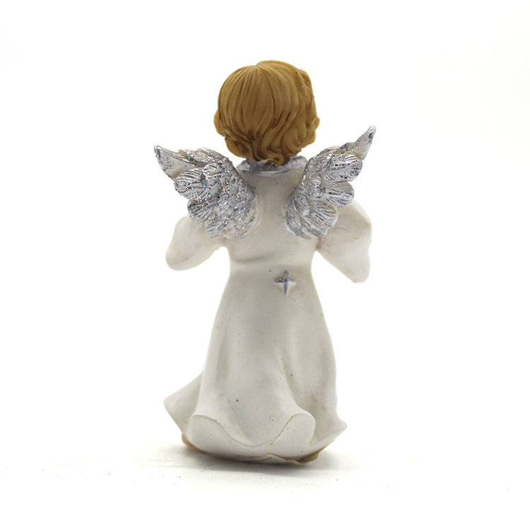 OEM manufacturer resin angel statues for decor angel figurine