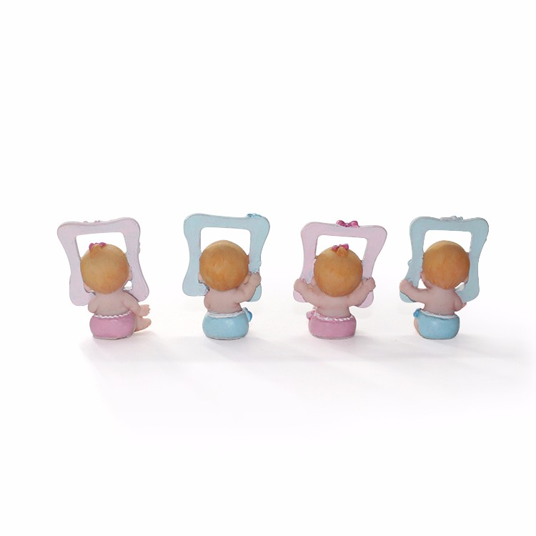 baby shower souvenirs custom resin tiny figurine wholesale gifts
