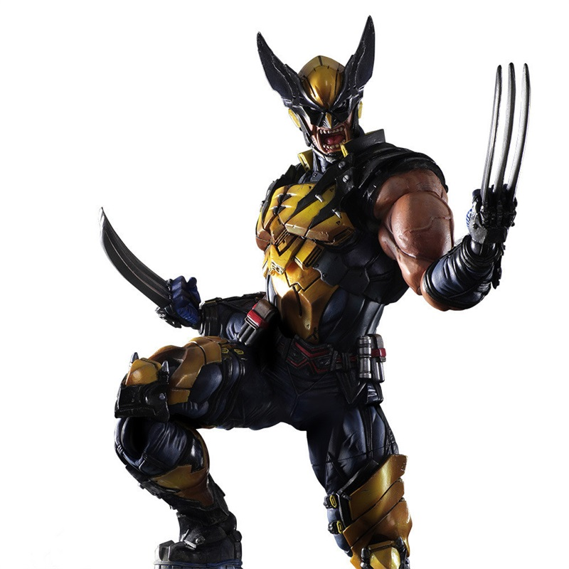 10inch pvc anime super hero model marvel variant x man wolf action figure