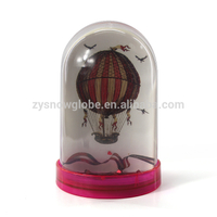 Photo frame plastic snow globe