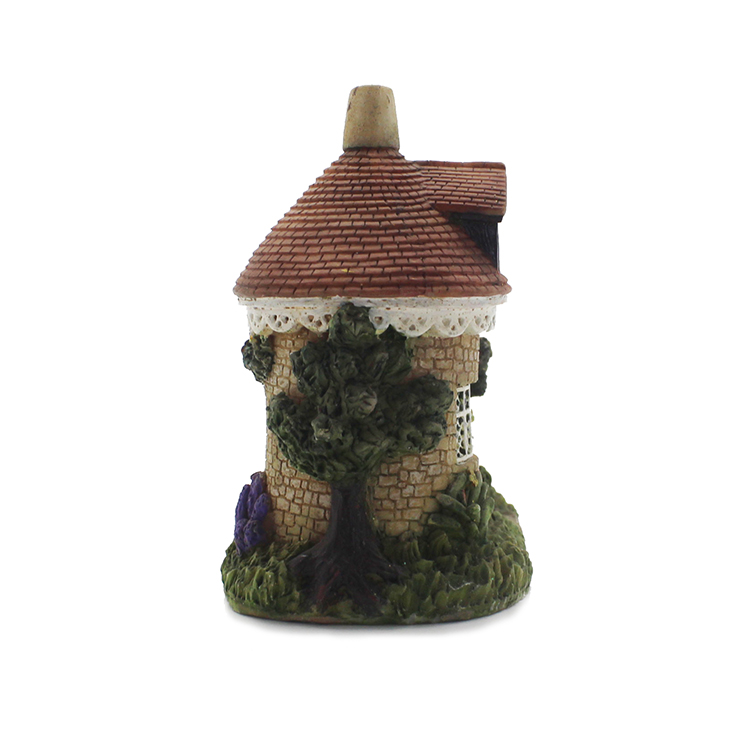 Factory direct polyresin home decor model miniature house
