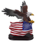 resin american style animal shape craft wholesale resin eagle figurines